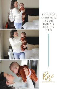 Tips for carrying baby