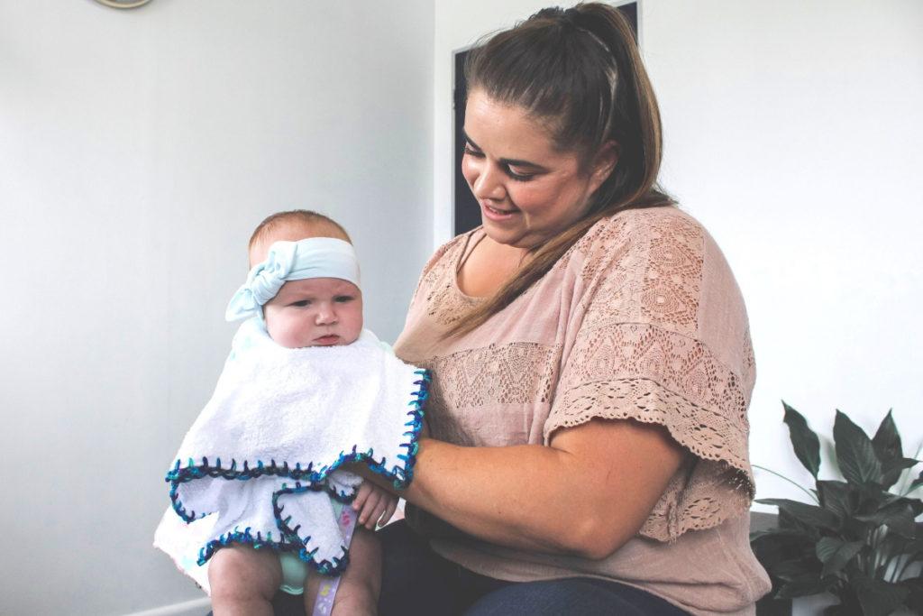 Dr Chantel da Silva helps babies with reflux